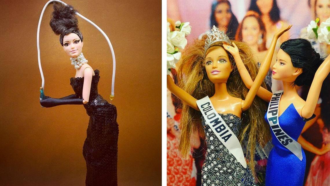 Famous-Moments-of-2015-Reenacted-With-Barbie-Dolls