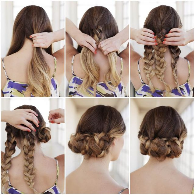 Creative-Ideas-DIY-Easy-Braided-Updo-Hairstyle