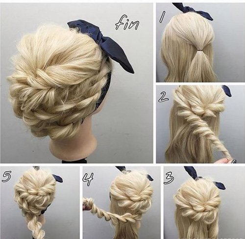 Easy-Tutorial-for-Rope-Braided-Updo-Hairstyles-2017