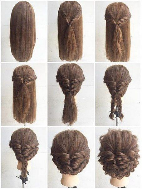 hairstyles-for-long-hair-step-by-step-best-25-step-step-hairstyles-ideas-on-pinterest-easy-hair